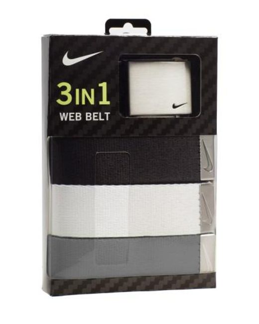 Nike | Gray Web Belts for Men | Lyst