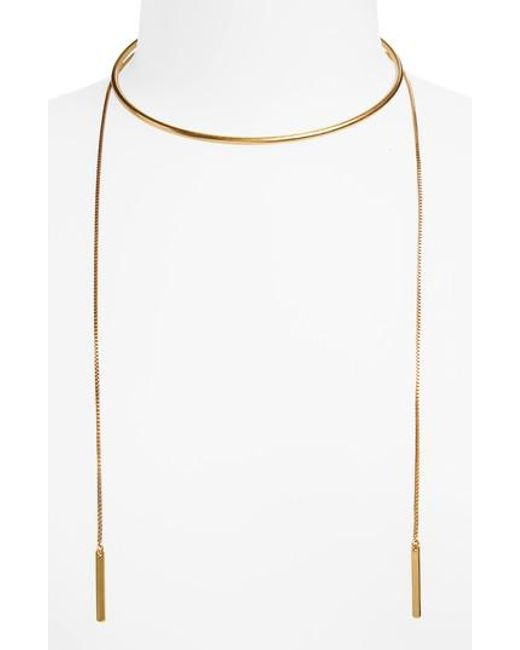 Madewell | Multicolor Chain Choker Necklace | Lyst