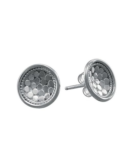 Anna Beck | Metallic 'gili' Small Dish Stud Earrings | Lyst