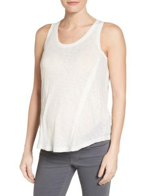 Loyal Hana | White Paige Maternity/nursing Tank Top | Lyst