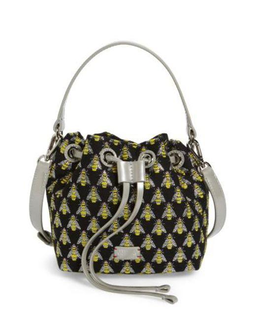 Frances Valentine | Multicolor Ann Little Bee Woven Bucket Bag | Lyst