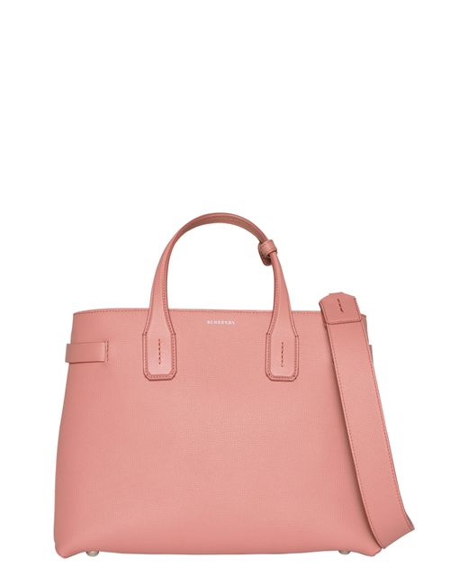 Burberry - Multicolor Medium Banner Leather Tote - - Lyst