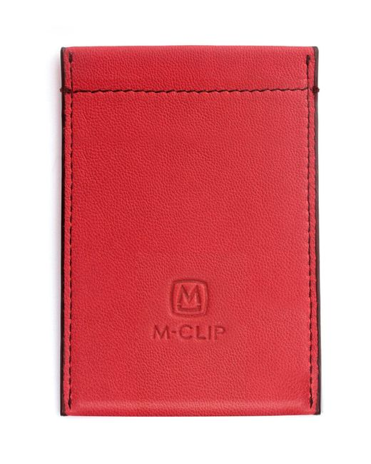 M-clip - Red M-clip Rfid Card Case - for Men - Lyst