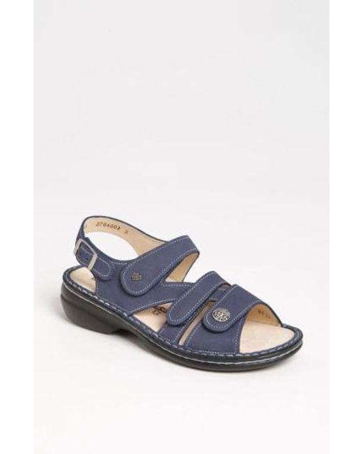 Finn Comfort | Blue 'gomera' Sandal | Lyst