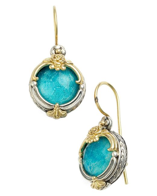 Konstantino - Blue 'iliada' Doublet Drop Earrings - Lyst
