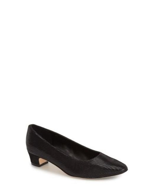 Vaneli | Gray 'astyr' Almond Toe Pump | Lyst