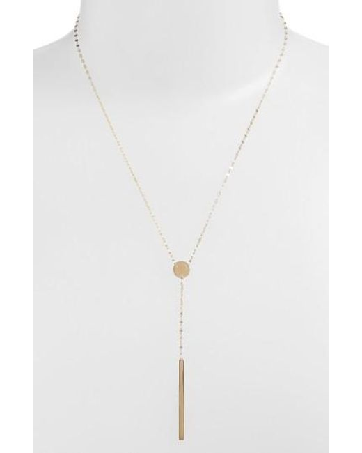 Lana Jewelry - Yellow 'chime' Y-necklace - Lyst