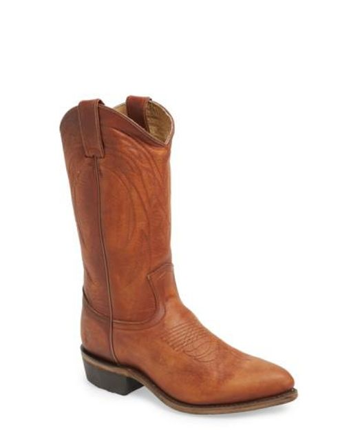 Frye - Brown Billy Leather Western Boots - Lyst