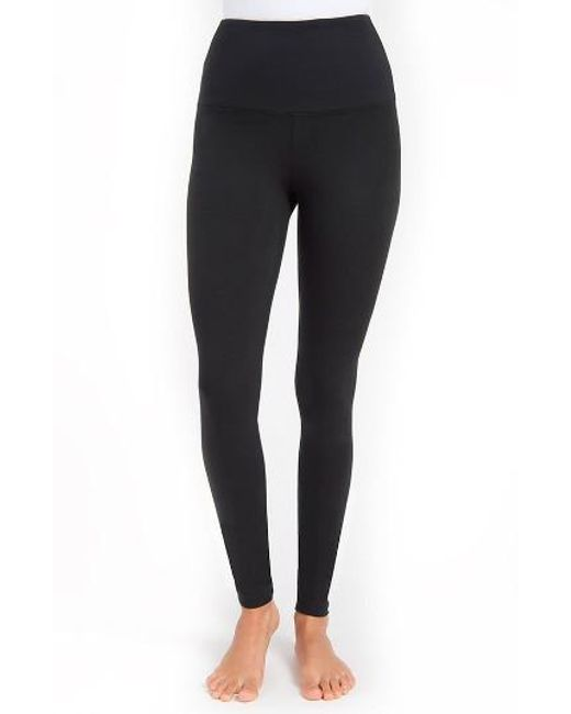 Lyssé | Black Control Top High Waist Leggings | Lyst