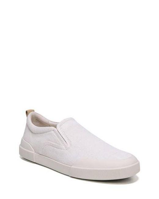 Vince - White Vernon Slip-on Sneaker - Lyst