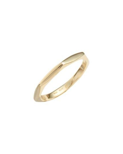 Bony Levy - Metallic Geometric Band - Lyst