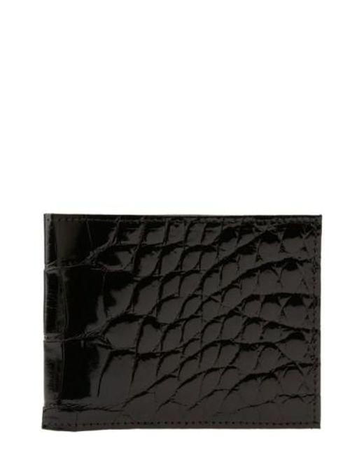 Martin Dingman - Black Genuine American Alligator Billfold for Men - Lyst