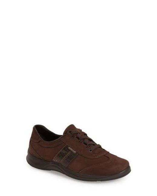 Mephisto | Brown 'laser' Walking Shoe | Lyst