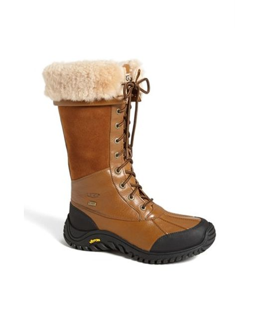 Ugg Ugg Adirondack Tall Boot In Brown Save 24 Lyst