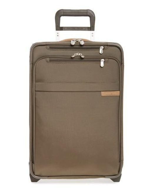 Briggs & Riley - Green 'baseline' Domestic Expandable Rolling Carry-on for Men - Lyst