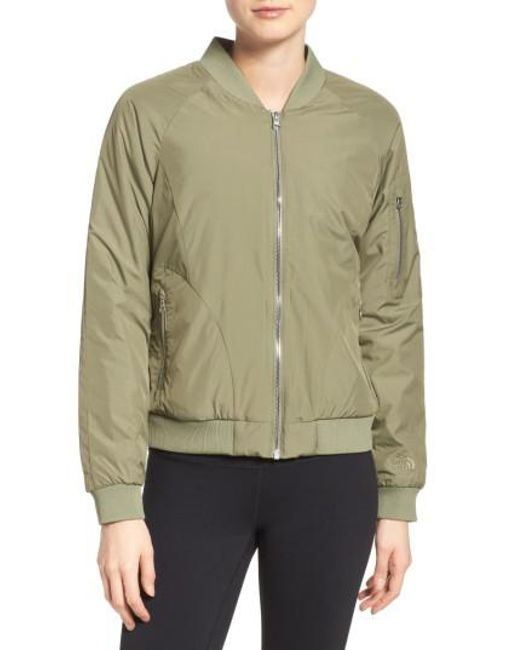 The North Face | Gray 'rydell' Water Resistant Heatseeker(tm) Insulated Bomber Jacket | Lyst