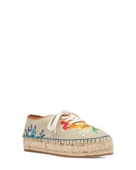 Nine West Women's Guinup Embellished Espadrille Sneaker dndZf0ZAJY