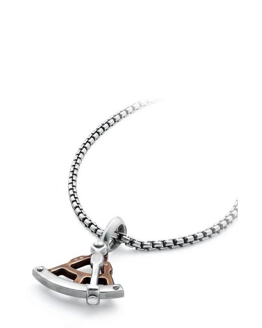 David Yurman - Metallic Maritime Sextant Amulet With Bronze for Men - Lyst