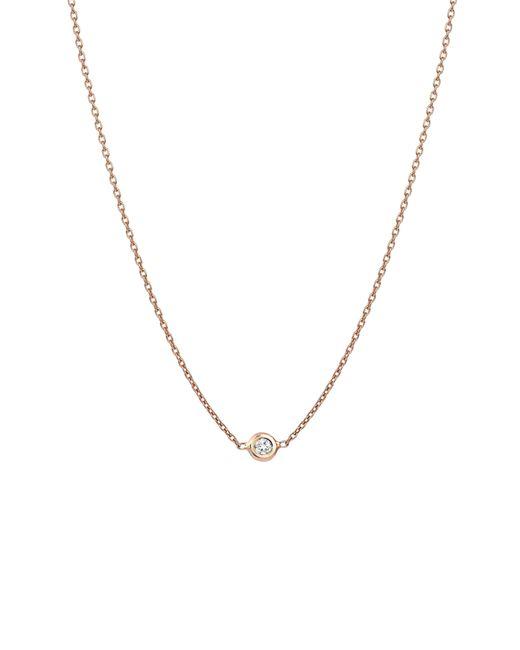 Kismet by Milka - Metallic Diamond Choker Necklace - Lyst