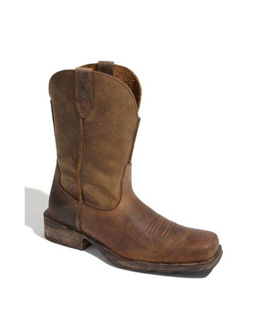 Ariat   Brown Rambler Boot for Men   Lyst