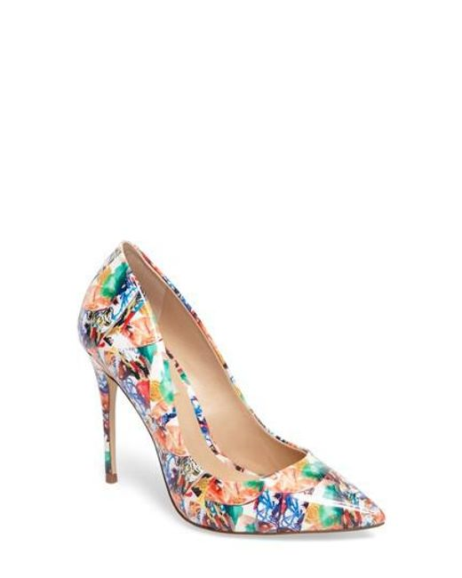 Steve Madden | Multicolor Daisie Pointy-toe Pump | Lyst