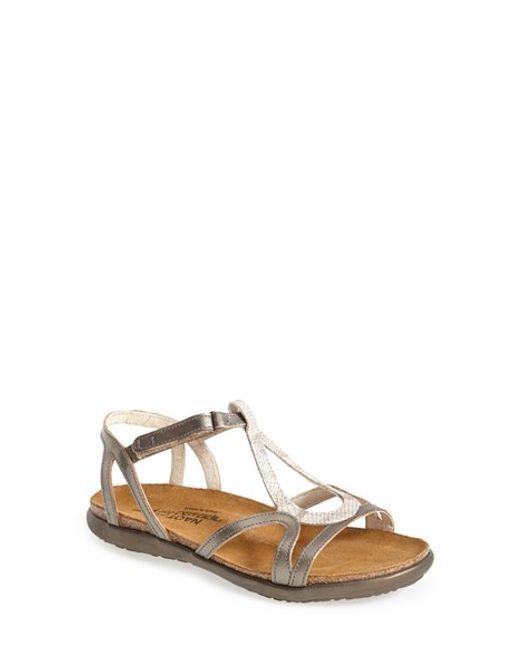 Naot | Natural 'dorith' Sandal | Lyst