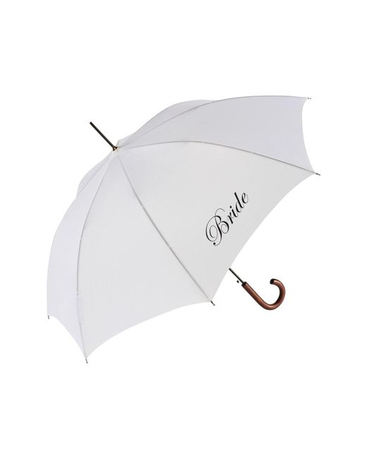 Shedrain - White Wedding Day Auto Open Stick Umbrella - - Lyst