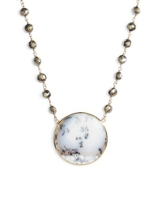 Ela Rae - Metallic Morah Necklace - Lyst