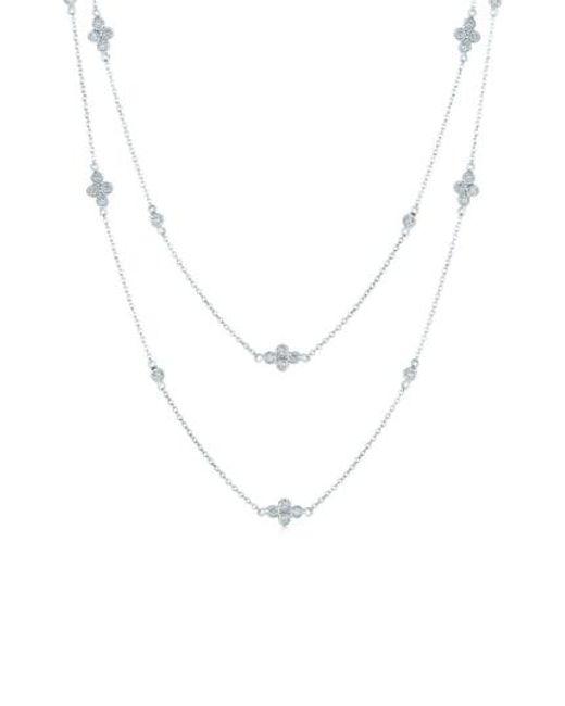 Kwiat - Metallic 'diamond Strings' Long Diamond Station Necklace - Lyst