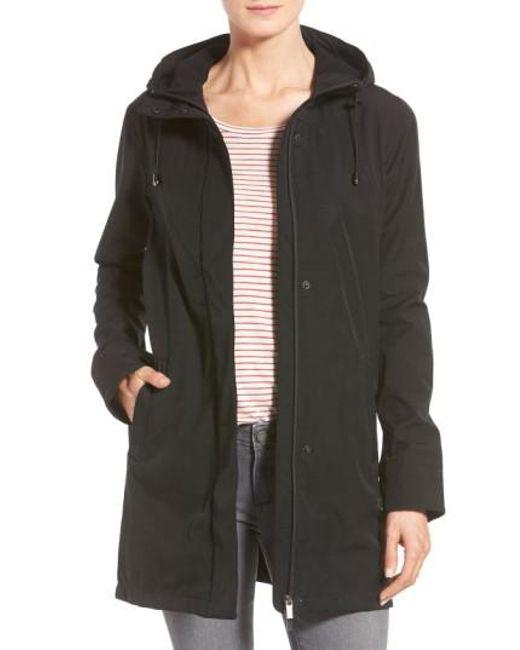 Ilse Jacobsen - Black Hooded Raincoat - Lyst