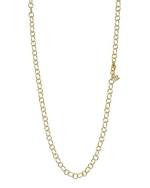 Temple St. Clair - Metallic Temple St. Clair 18-inch Ribbon Chain Necklace - Lyst