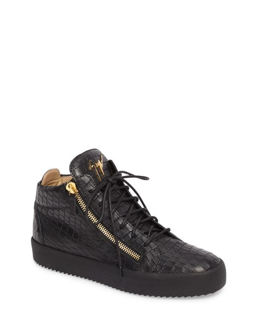 Giuseppe Zanotti - Black High-top Sneaker for Men - Lyst