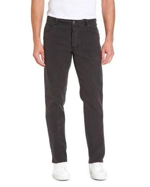 James Perse - Gray Straight Leg Five-pocket Pants for Men - Lyst