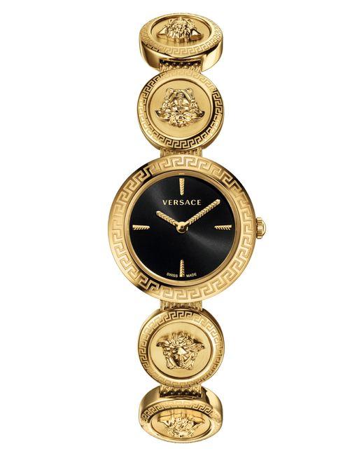 Versace - Metallic Medusa Stud Icon Bracelet Watch - Lyst