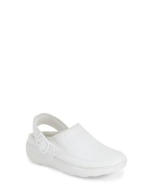 Fitflop - White (tm) 'gogh Pro - Superlight' Clog - Lyst