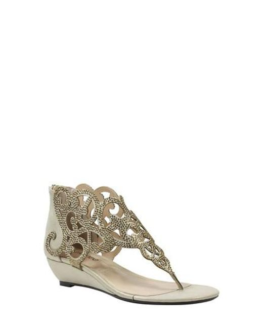 J. Reneé | Metallic Minka Sandal | Lyst