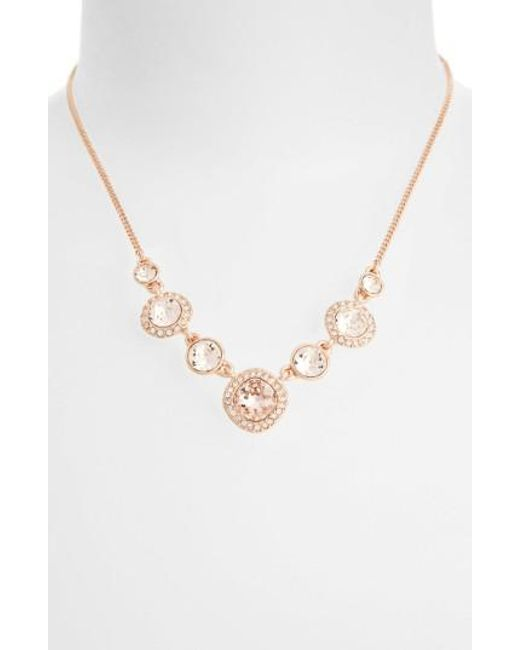 Givenchy | Pink Frontal Necklace | Lyst