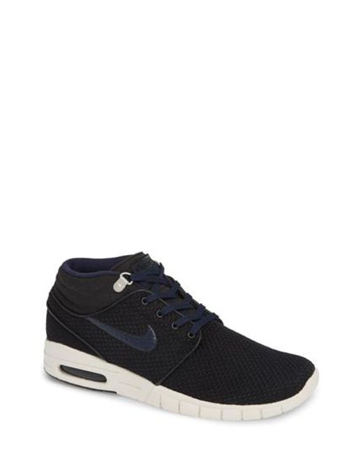 Lyst - Nike Sb Stefan Janoski Max Mid Skate Shoe in Black for Men bfc127ad1