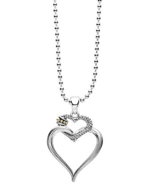 Lagos | Metallic Beloved Heart Pendant Necklace | Lyst
