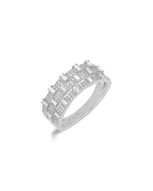 Bony Levy - Metallic Wide Diamond Ring (nordstrom Exclusive) - Lyst