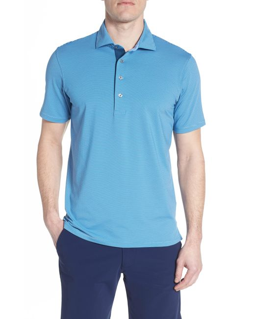 Greyson - Blue Saranac Airflow Jersey Polo for Men - Lyst