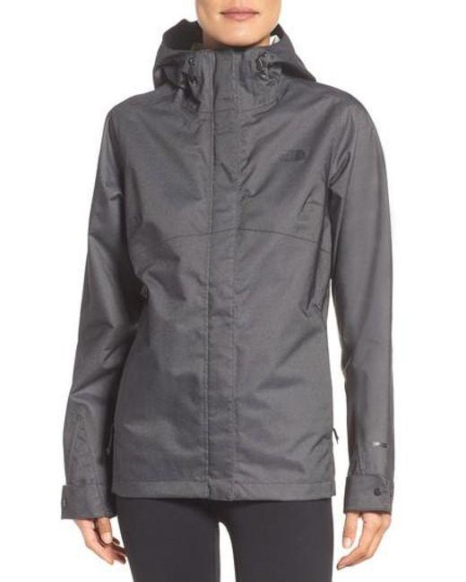 The North Face   Gray Berrien Waterproof Jacket   Lyst