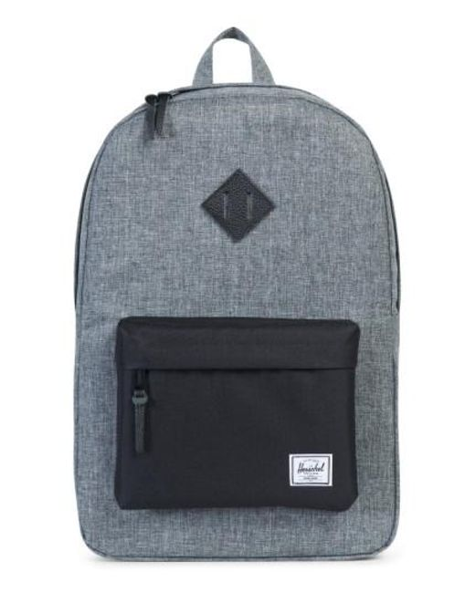 Herschel Supply Co. | Black Heritage Backpack | Lyst