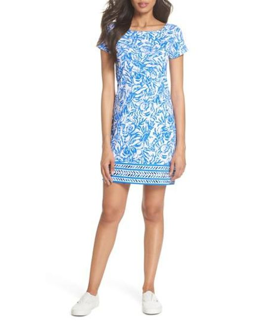 Lilly Pulitzer - Blue Lilly Pulitzer Marlowe Shift Dress - Lyst