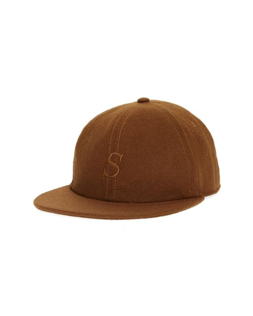Saturdays NYC - Brown Rich S Snapback Baseball Cap for Men - Lyst