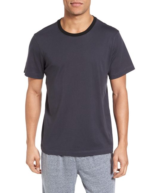 Daniel Buchler - Blue Crewneck Peruvian Pima Cotton T-shirt for Men - Lyst