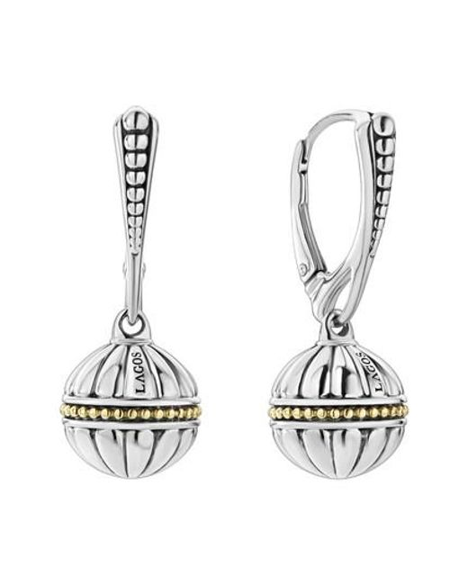 Lagos - Metallic Signature Gifts Beaded Band Earrings - Lyst