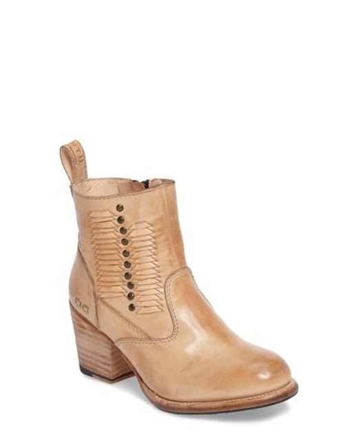 Bed Stu | Natural Shrill Bootie | Lyst
