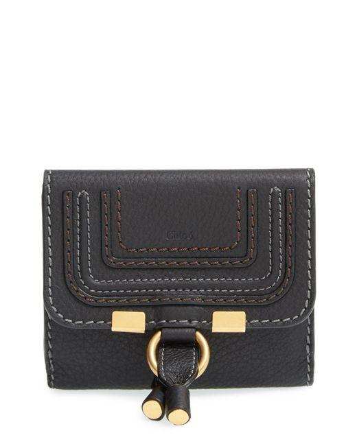 Chloé - Gray 'marcie' French Wallet - - Lyst