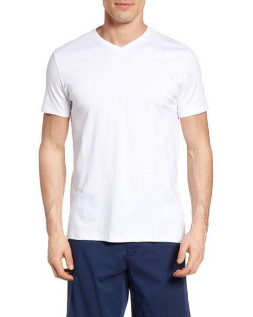 Robert Barakett | White Georgia Regular Fit V-neck T-shirt for Men | Lyst